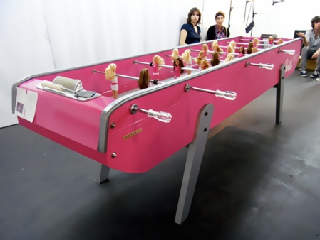 Barbie-Themed-Football-Table