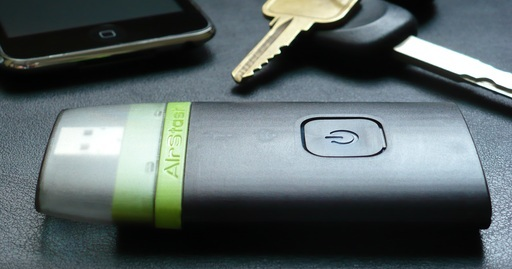 AirStash expands your iPhone's storage, wirelessly