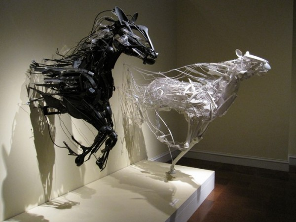Sculptures from Recycled Materials by Sayaka Kajita Ganz (5)