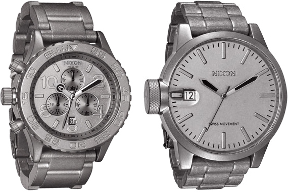 Nixon Raw Steel Watches