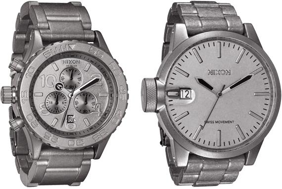 Nixon Raw Steel Watches